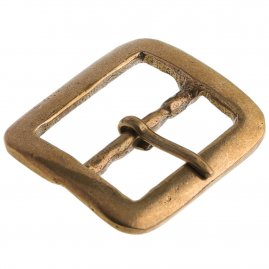 Tudor Rectangular double loop buckle, 1485 - 1600