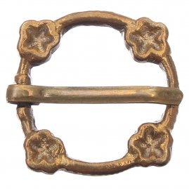 Decorated brooch, 14th-15th cen.