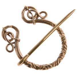 Viking Middle Ages penannular brooch Windalf, 9th cen.