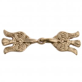 Viking Ravens brass Clasp Clip for Cloak