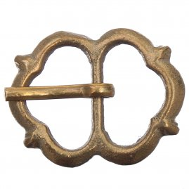 Tri-Lobed Buckle, years 1400-1500