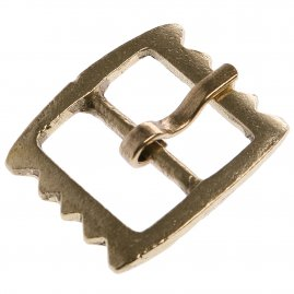 Late Medieval Serrated Buckle 1500 - 1600