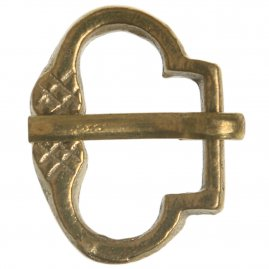 Late Gothic Brass Buckle, smaller version