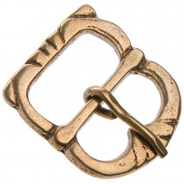 Plain asymetrical buckle 1550-1650