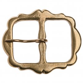 Baldric buckle, 1600 - 1700 - 60 x 74 mm