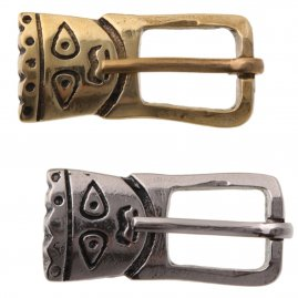 Viking anthropomorphic buckle