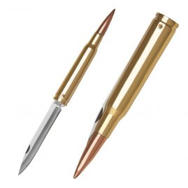 .50 Caliber Bullet Knife, Folder