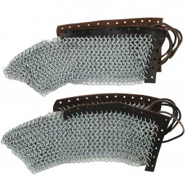 Sabatons, chain mail foot protectors