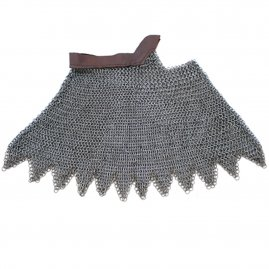 BTW Chainmail aventail with leather strap