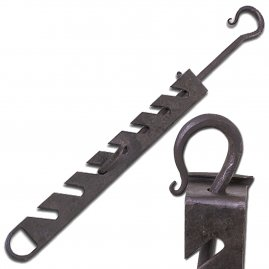 Adjustable trammel hook 51-80 cm