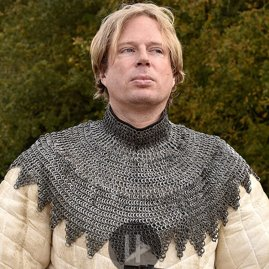 Bishop's Mantle FRM, chainmail collar