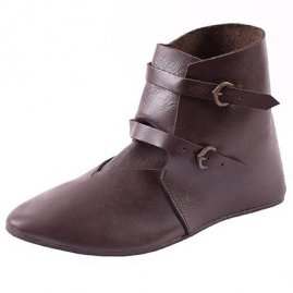Middle Ages Ankle boots with buckles