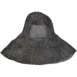 Late medieval Maille Coif from flat rings