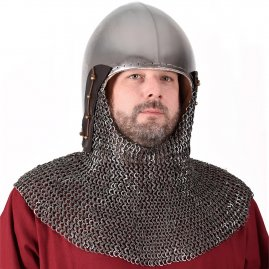 Bascinet Helmet with optional Aventail