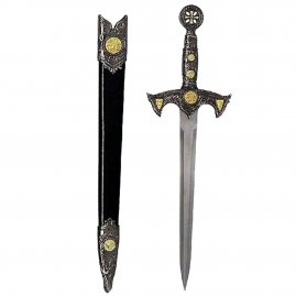 Decorated Dagger with scabbard