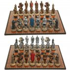 Chess Set armored knights