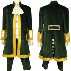 Baroque men's costume Aristocrat